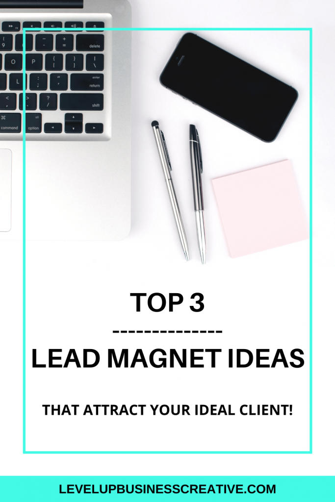 Lead magnet ideas that attract your dream clients can help grow your online business. Using lead magnets to drive traffic using Pinterest for business and Pinterest marketing strategies is key to attracting your ideal clients. Click to learn how to grow your business using lead magnets! #leadmagnetideas #leadgeneration #pinterestmarketing #pinterestsalesfunnels