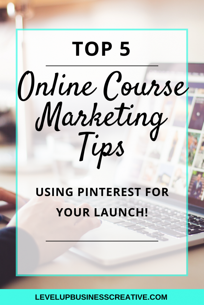Online Course Marketing Using Pinterest for future launches!  Pinterest marketing for course creators. Better understand Pinterest strategy surrounding your product launch.  Learn Pinterest for business to market your online course.  Digital marketing tips, and tips to optimize Pinterest.  #onlinecoursemarketing #coursecreation #pinterestmarketing #productlaunch #pinterestforbusiness